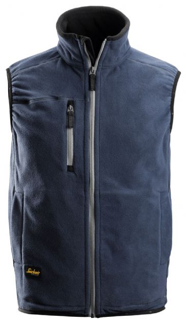 Snickers 8014 A.I.S. Fleece Vest (Navy)